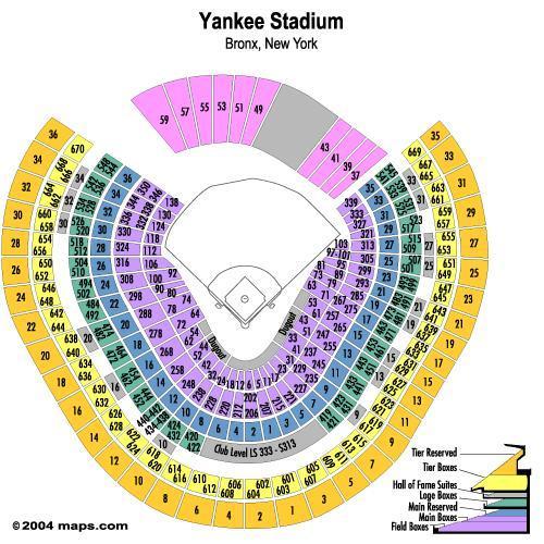 yankees stadium seating chart - Carnaval.jmsmusic.co